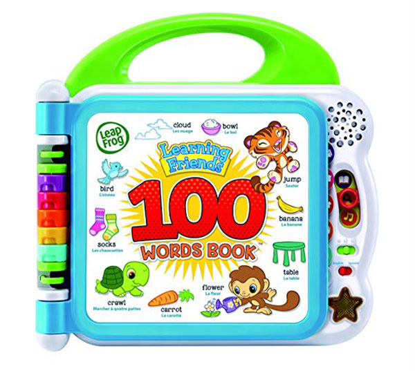 Christmas-gifts-for-toddlers-Leapfrog-100-words-book