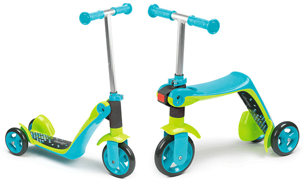 Christmas-gifts-for-toddlers-Smoby-2-in-1-scooter
